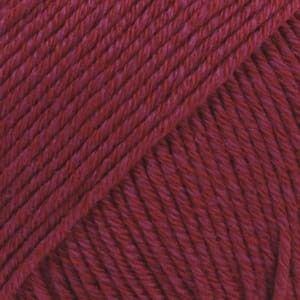 Droops Cotton Merino- Burgund- 07